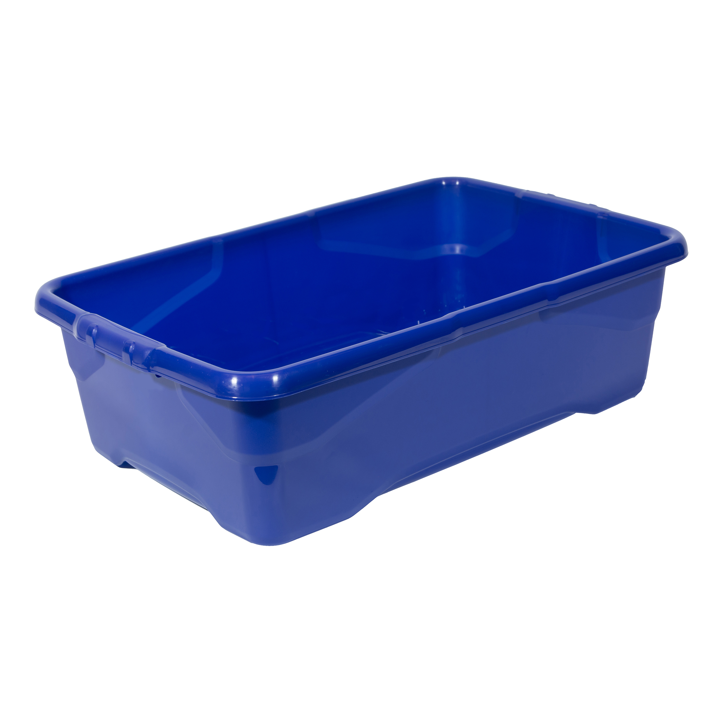 File storage boxes or organizers Strata Curve Box 30 Litre Blue Ref XW201B-LBL