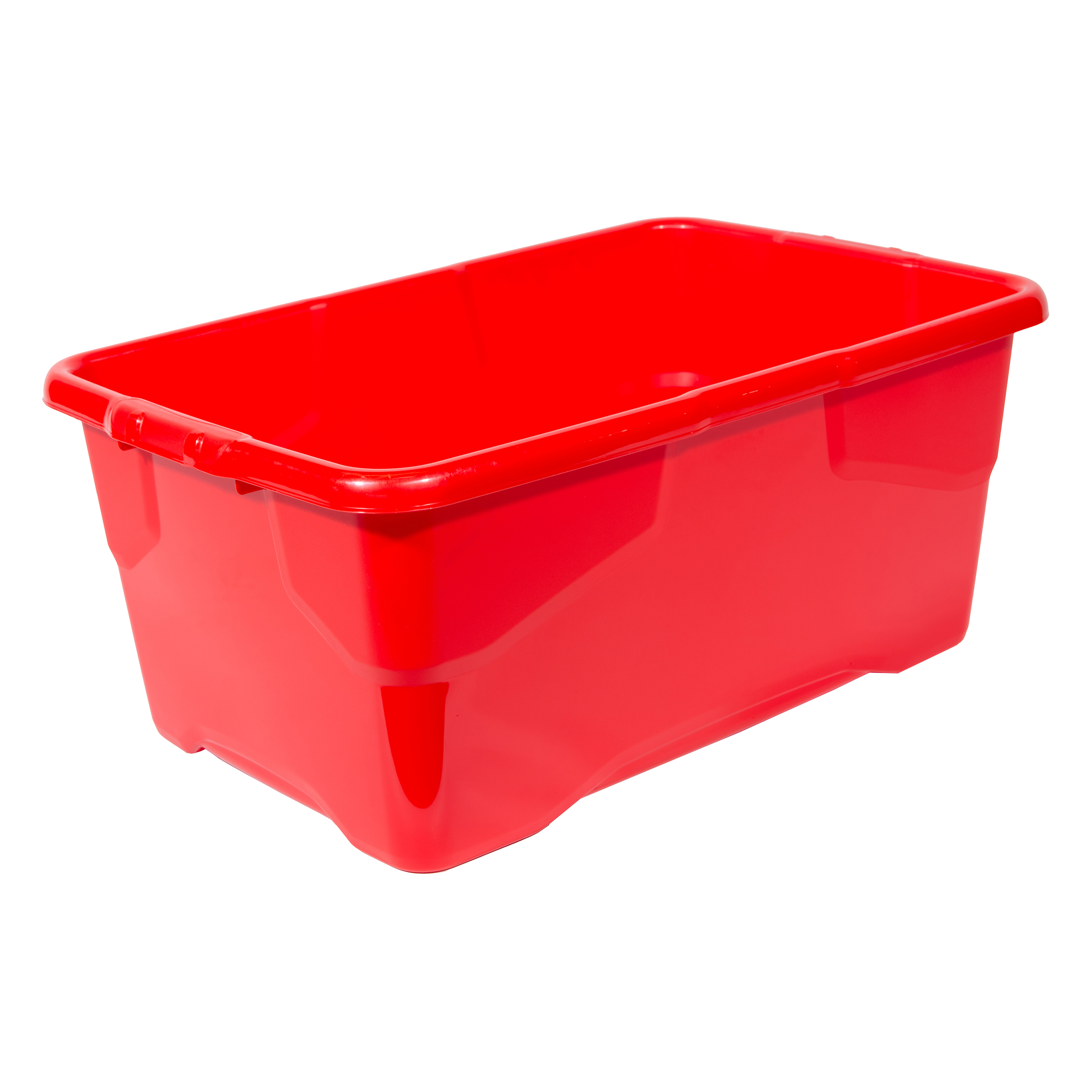 File storage boxes or organizers Strata Curve Box 42 Litre Red Ref XW202B-RED