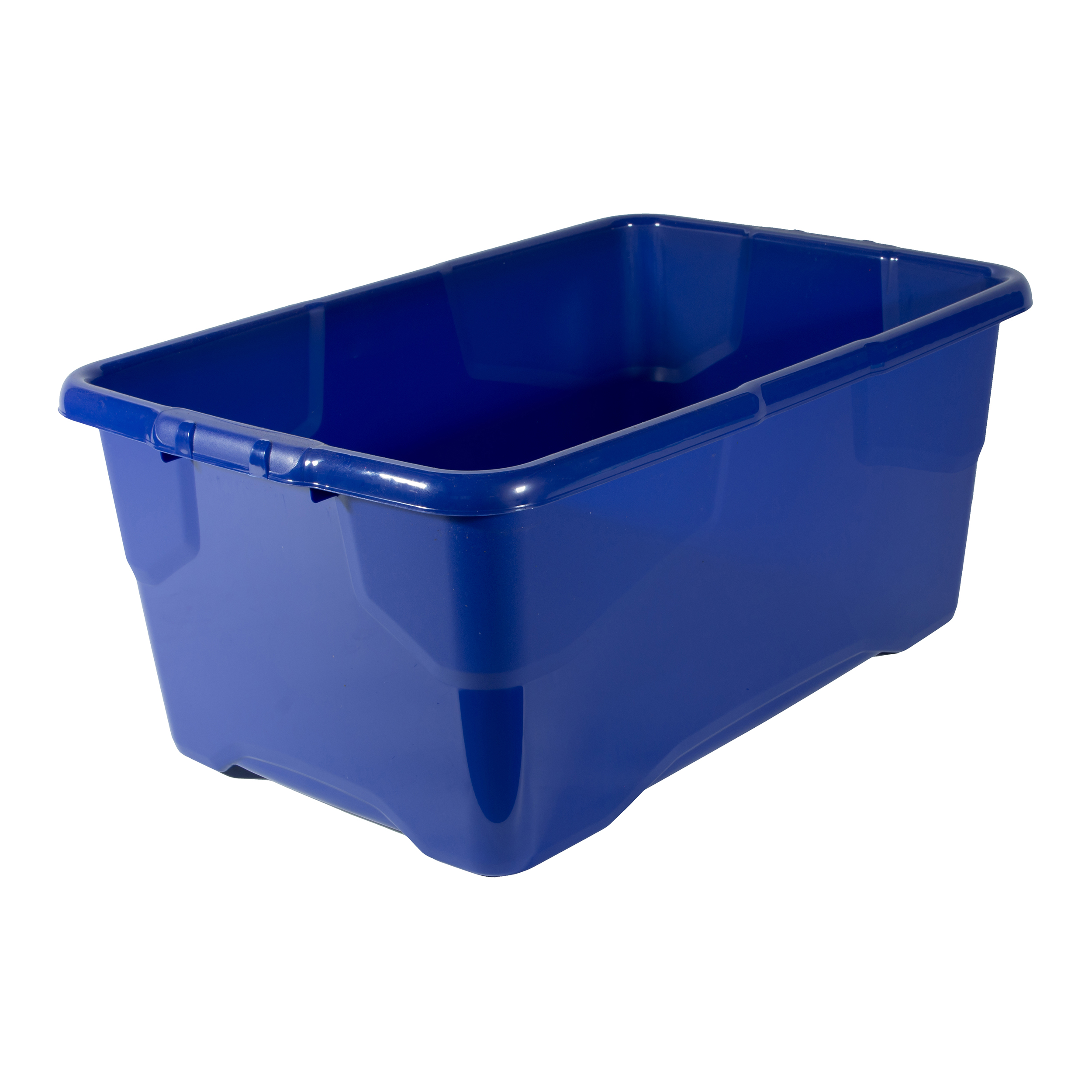 File storage boxes or organizers Strata Curve Box 42 Litre Blue Ref XW202B-LBL
