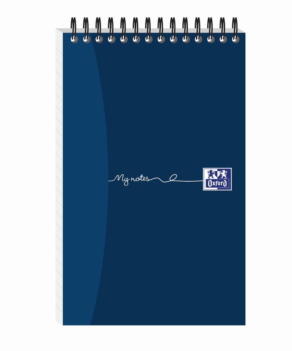Oxford MyNotes Notebook Headbound Wirebound 70gsm Ruled 300pp 200x125mm Ref 100080435 [Pack 5]
