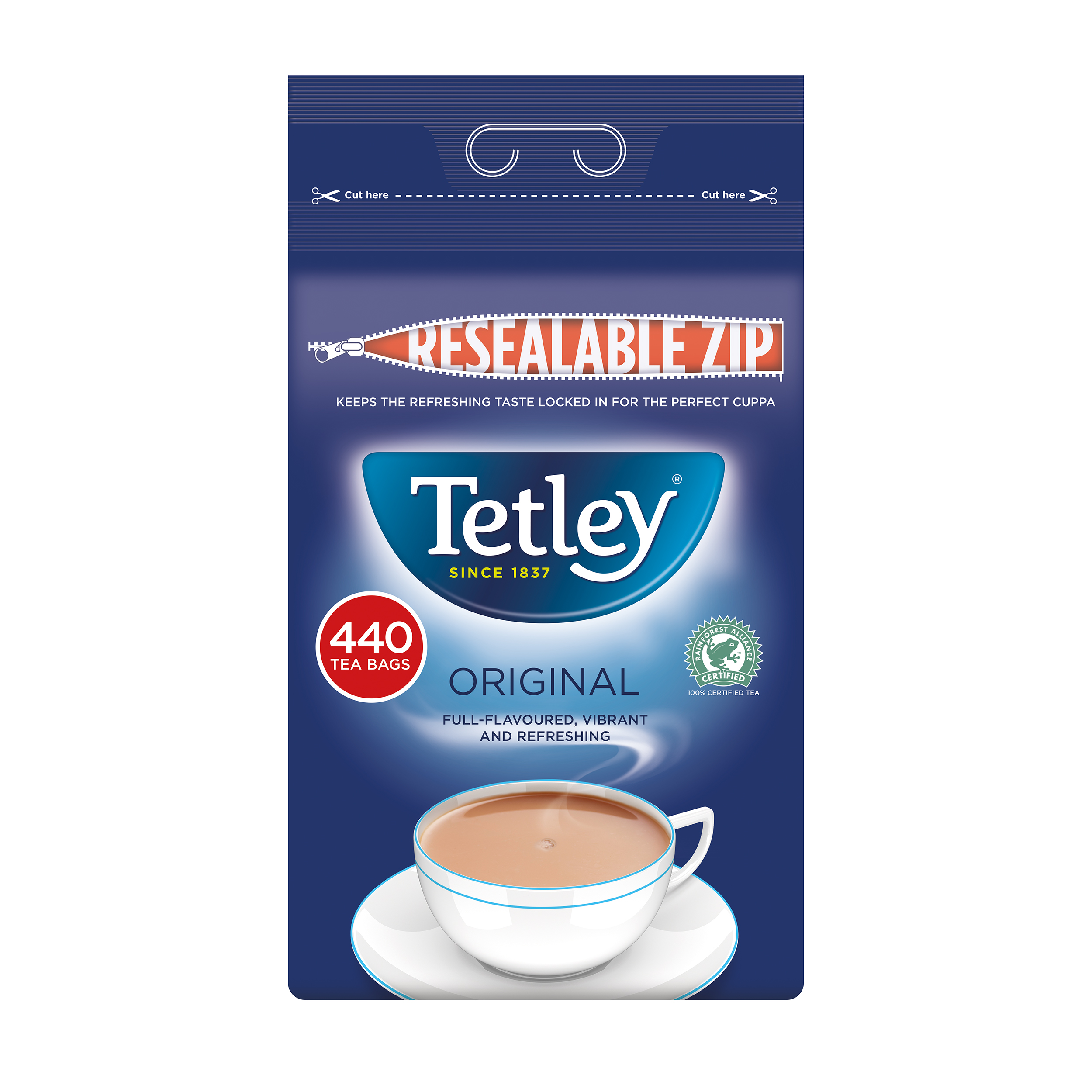 Tetley Tea Bags High Quality 1 Cup Ref 1054J Pack 440