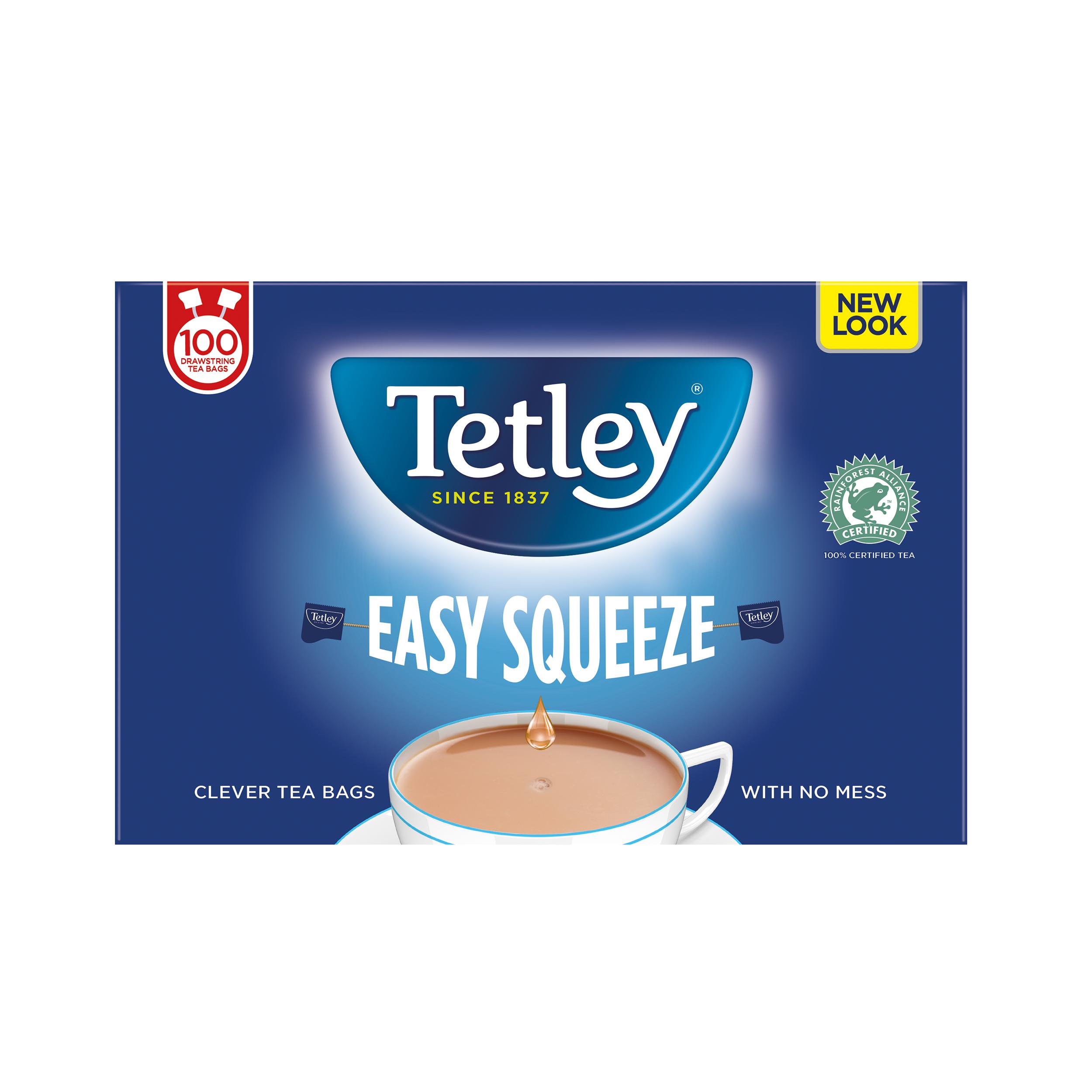 Tea Tetley Tea Bags Drawstring Non Drip Ref 0403158 Pack 100