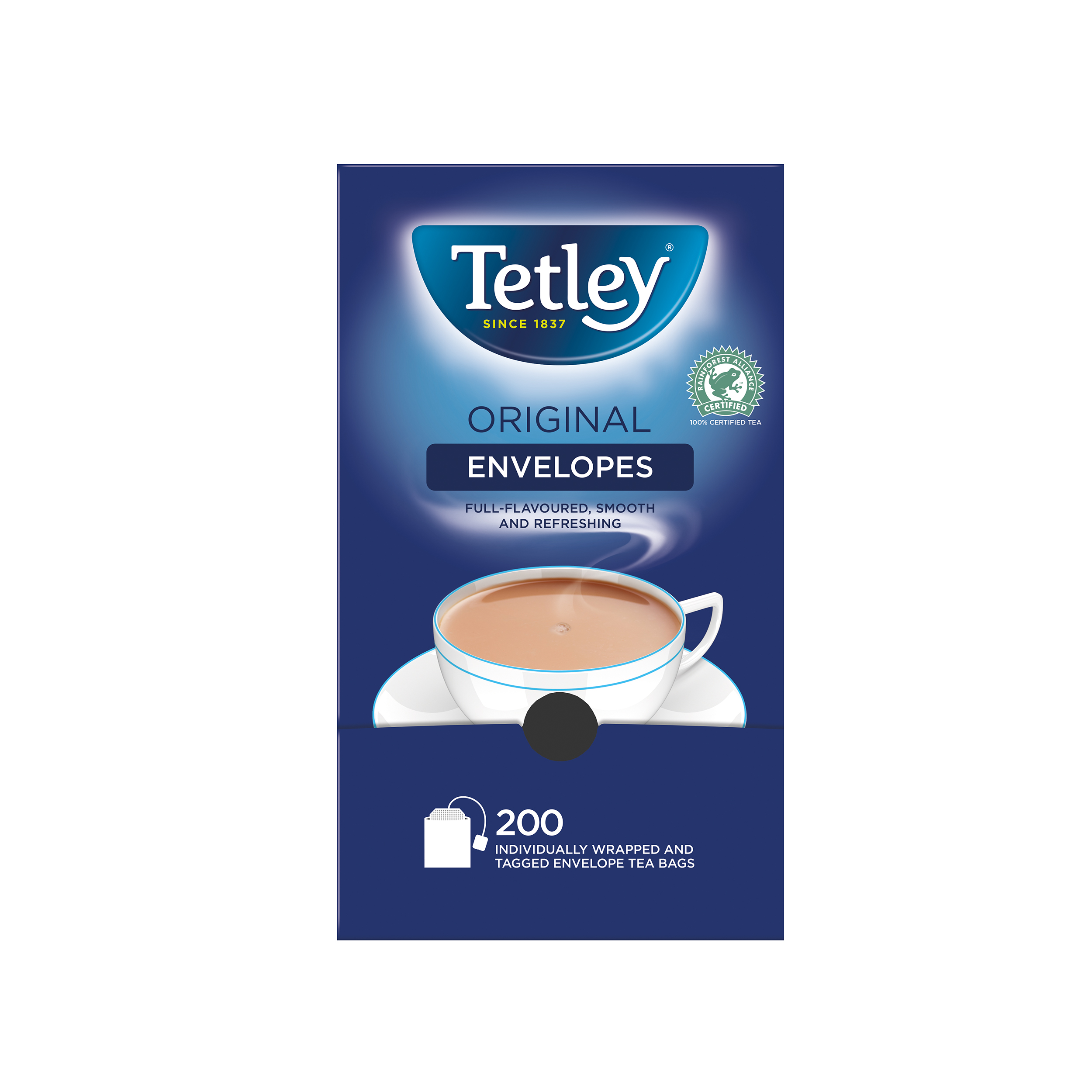 Tetley Tea Bags Tagged in Envelope High Quality Ref 1159B Pack 200