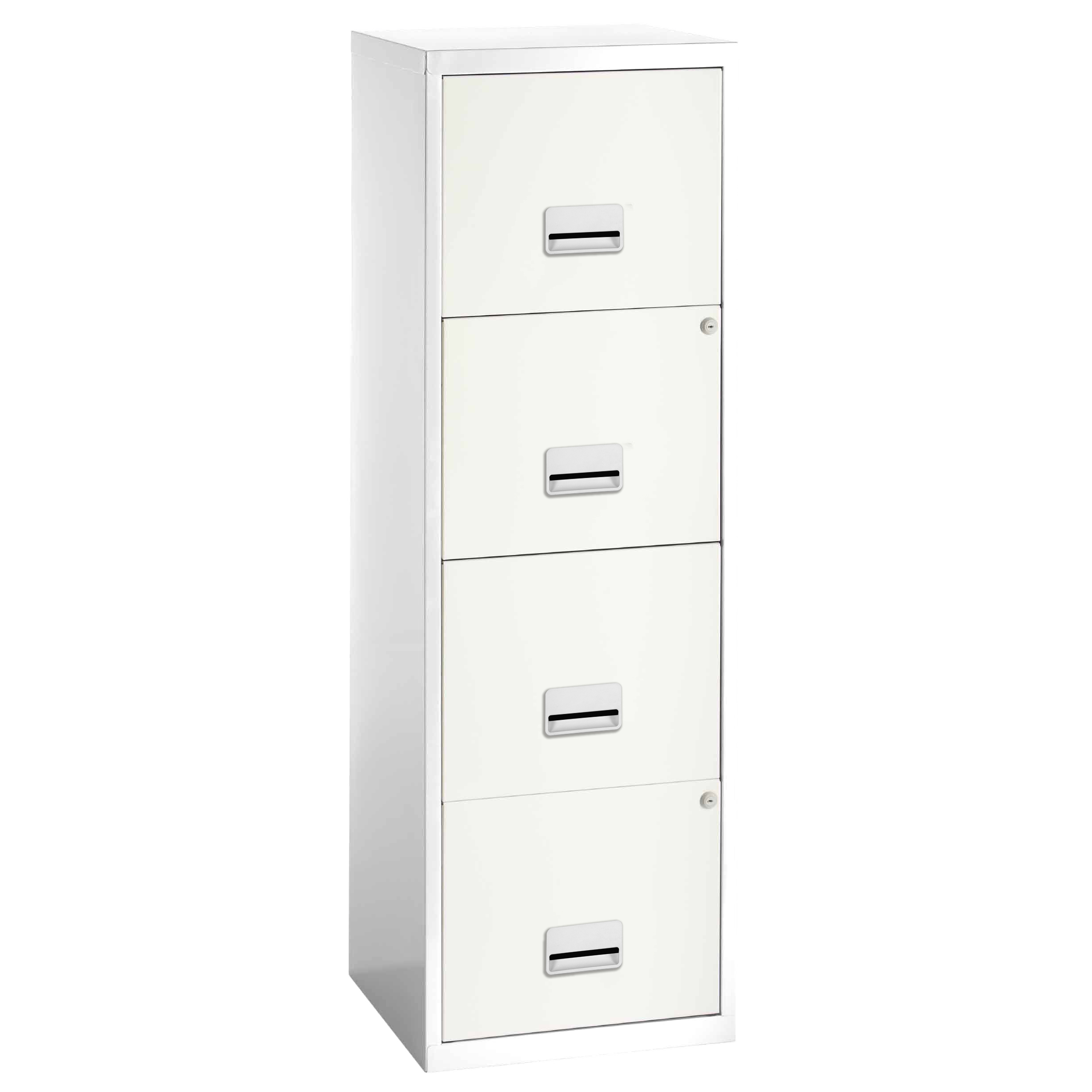 Filing cabinets or accesories Pierre Henry Maxi Filing Cabinet 4 Drawer A4 White Ref 095044