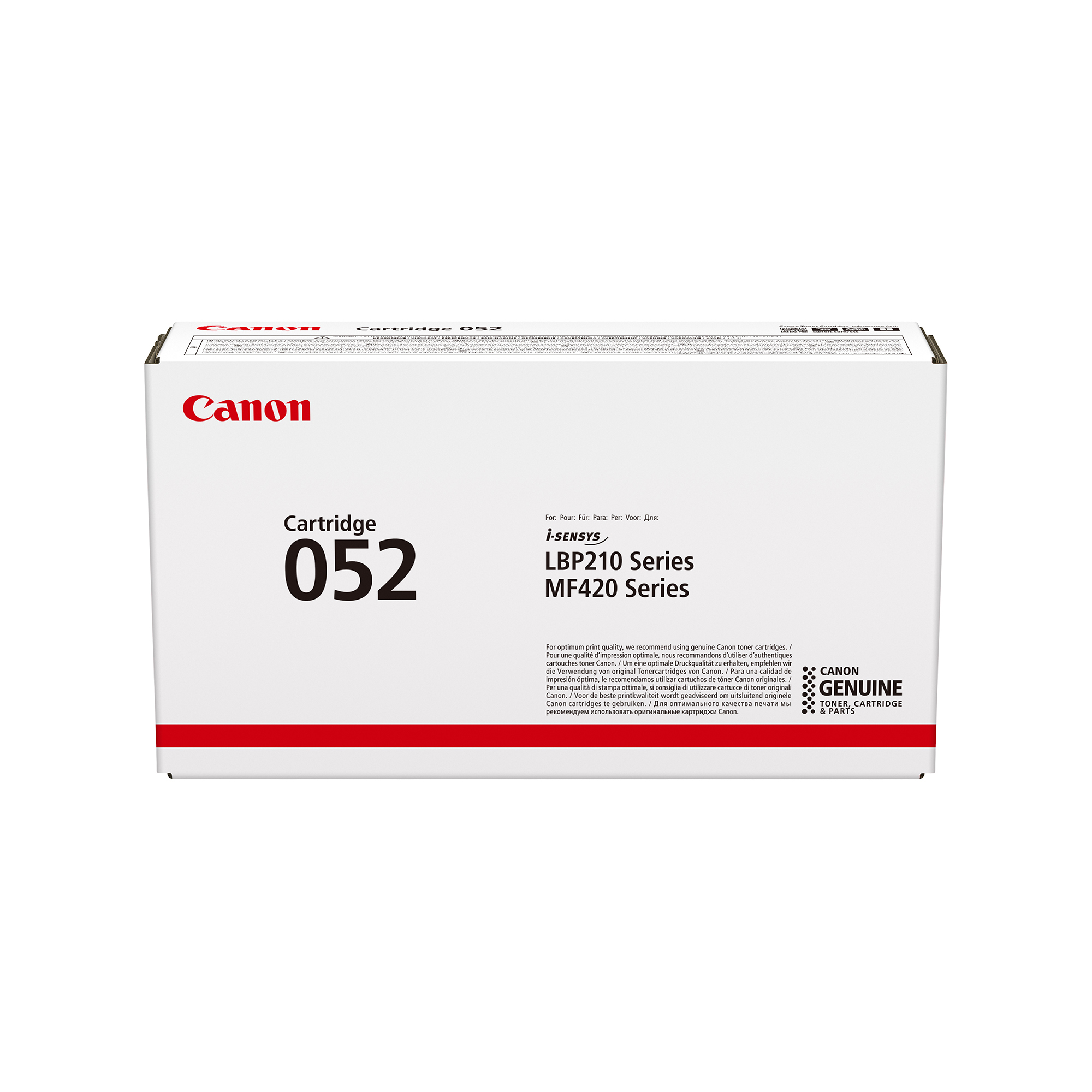 Canon 052 Laser Toner Cartridge Page Life 3100pp Black Ref 2199C002