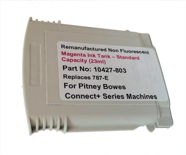 Totalpost Franking Inkjet Cartridge for Pitney Bowes ConnectPlus Series Magenta Ref 10427-803