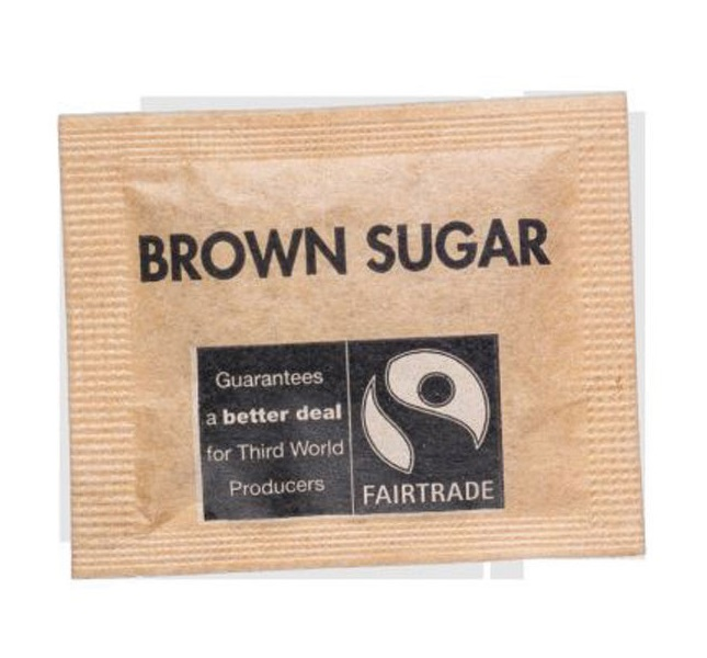 Fairtrade Sugar Sachets Brown Demerara Ref A07761 [Pack 1000]