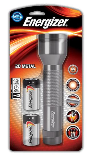 Energizer Metal Torch Heavy-duty 100 Lumens Aluminium Ref 639807
