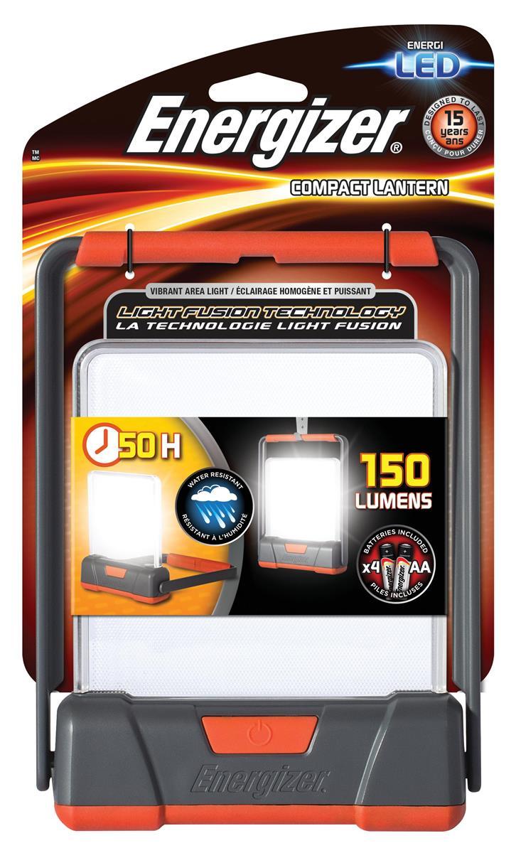 Energizer Fusion Compact Lantern LED 330 Lumens 2 Light Modes Ref E300461000