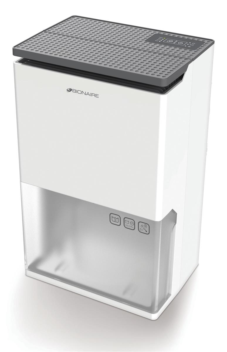Image for Bionaire Dehumidifier 3 Litre Tank 12 Litre Daily Extraction 3 Speed Settings Ref BDH001