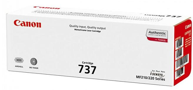 Canon 737 Laser Toner Cartridge Page Life 2400pp Black Ref 9435B002