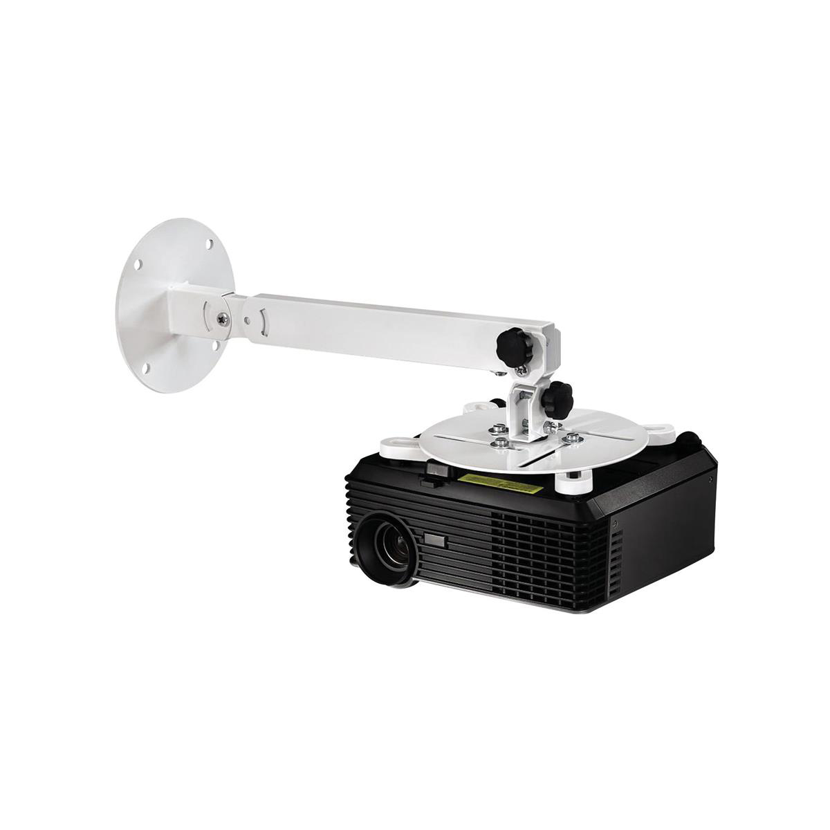 Hama Projector Mount for Wall/Ceiling 360 Rotation Max Load 15kg Ref 84422