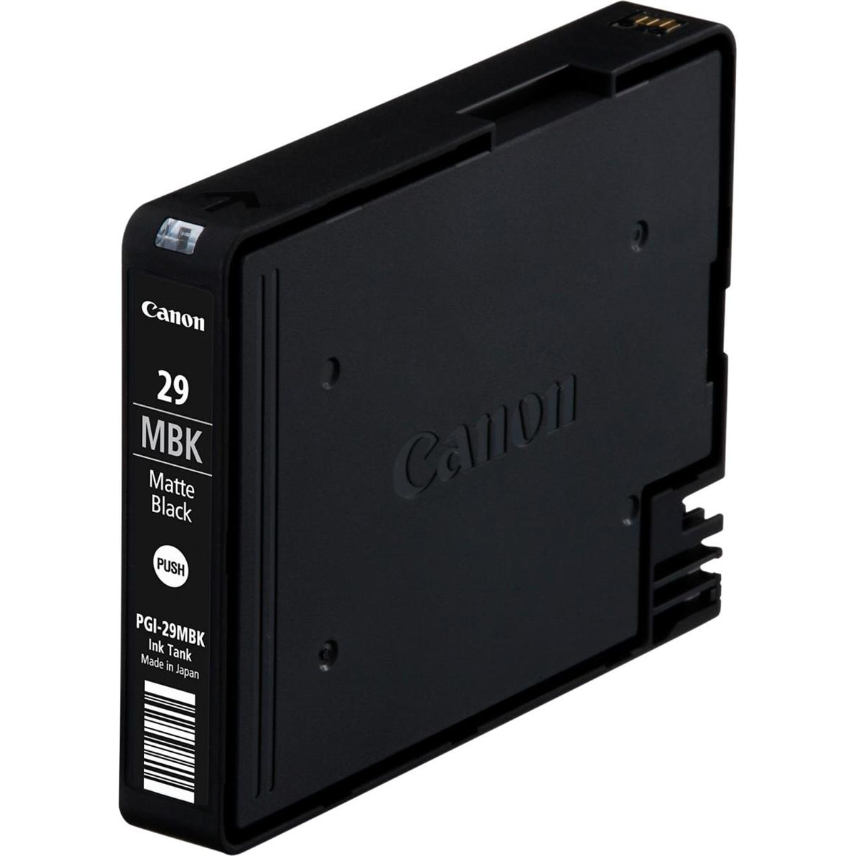A3 Canon PGI-29MBK Inkjet Cartridge 1345 photos Matte Black Ref 4868B001 *3to5 Day Leadtime*