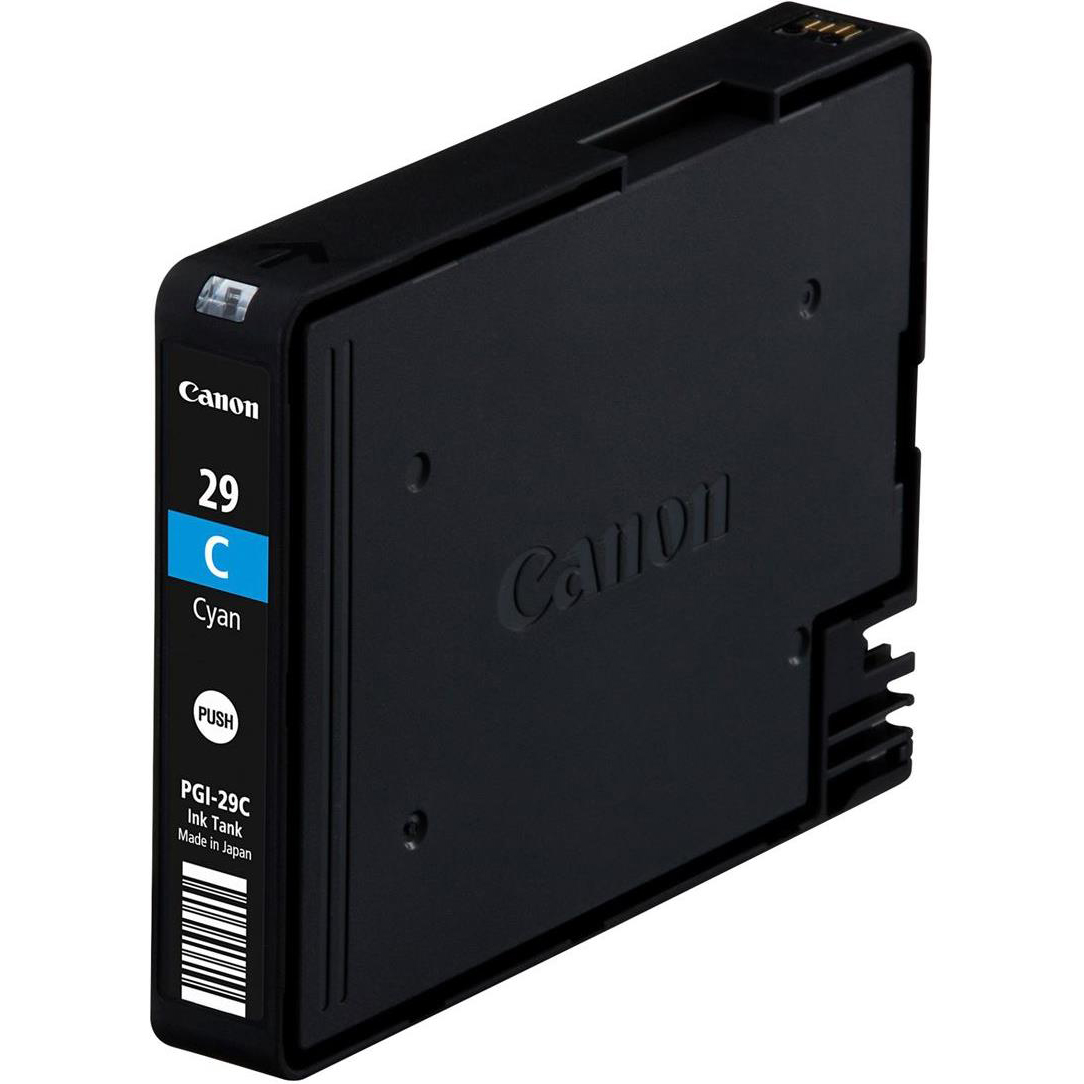 A3 Canon PGI-29PC Photo Inkjet Cartridge 1375 photos Cyan Ref 4876B001 *3to5 Day Leadtime*