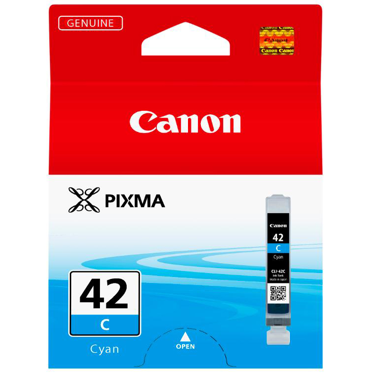 Canon CLI-42 Cyan Ink Cartridge Ref 6385B001