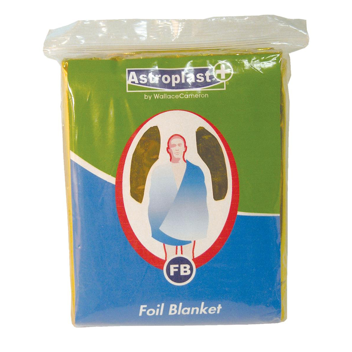 Wallace Cameron Astroplast First-Aid Emergency Foil Blanket Ref 4803008 [Pack 6]
