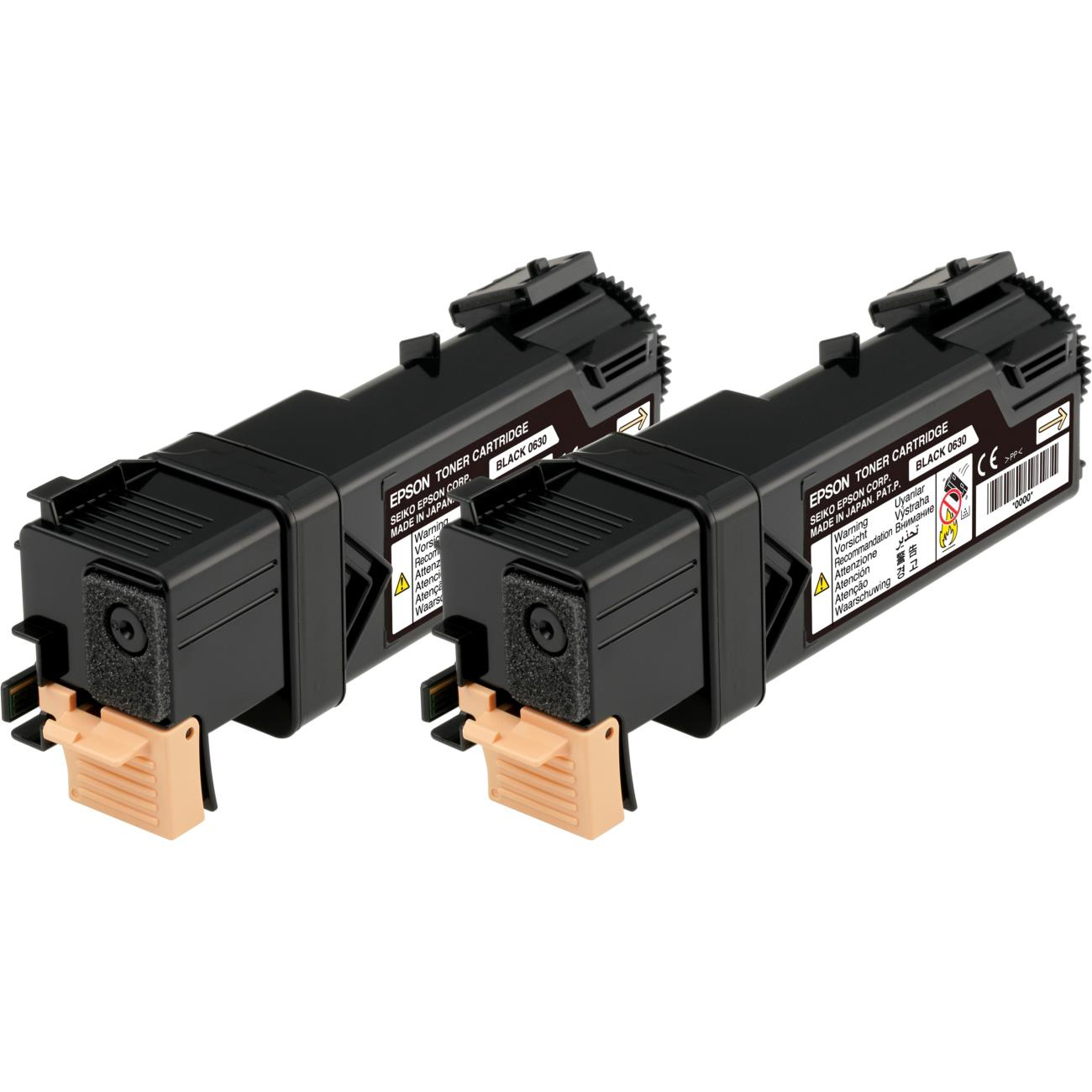 Epson S0506 Laser Toner Cartridges Page Life 3000pp Black Ref C13S050631Pack 2 *3to5 Day Leadtime*