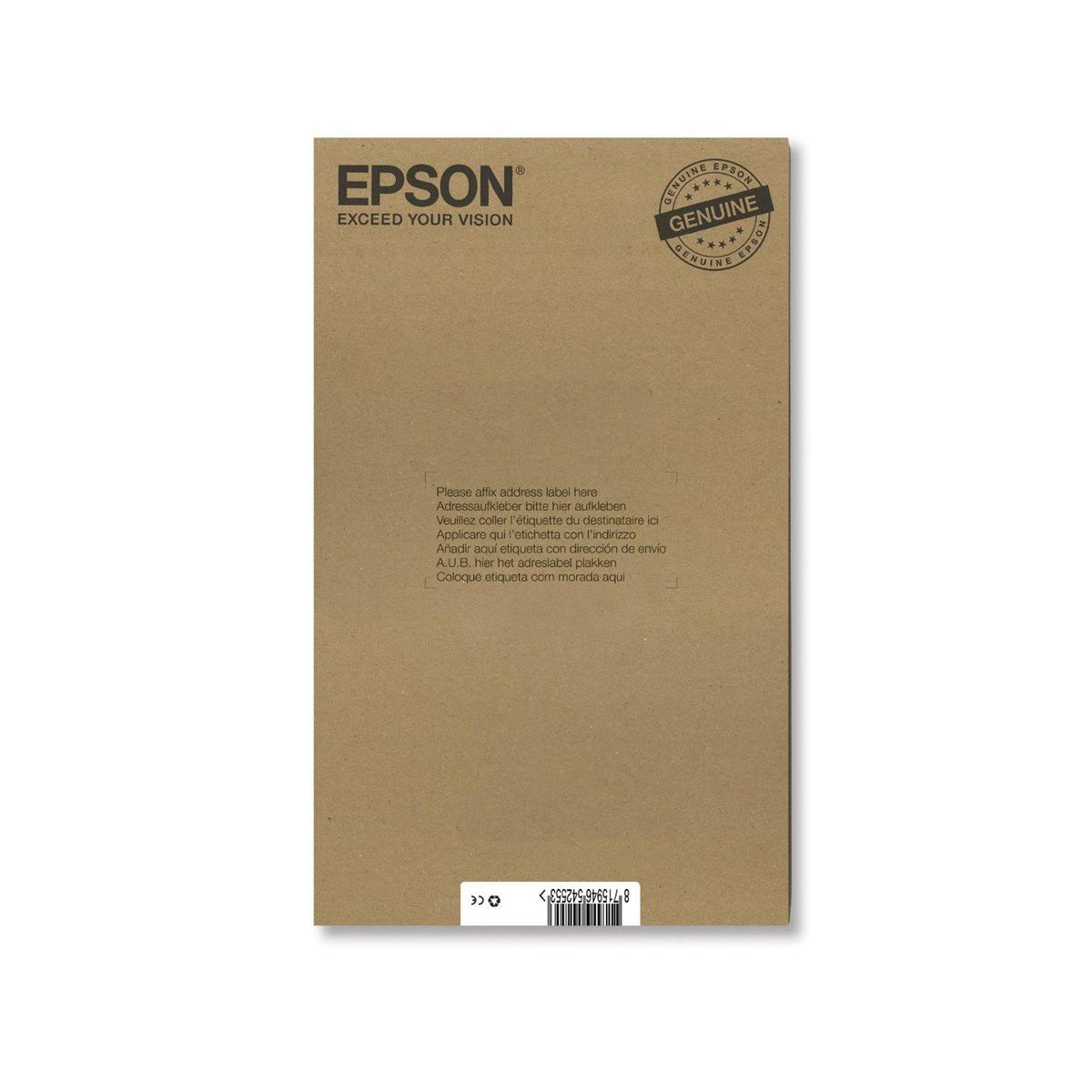 Epson T0807 Hummingbird InkCart Blk/Cyan/Mag/Yel/LC/LM 44.4ml C13T08074510 [Pack 6] *3to5 Day Leadtime*
