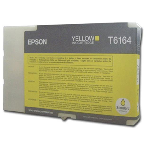 Epson T6164 Yellow Inkjet Cartridge Page Life 3500pp 53ml Ref C13T616400 3to5 Day Leadtime