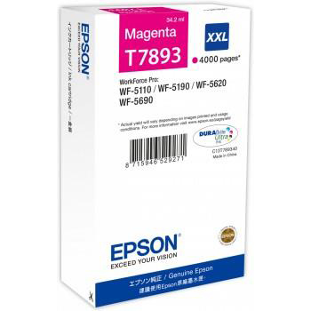 Epson T7893 Inkjet Cartridge Extra High Yield 4000pp Ref C13T789340 3to5 Day Leadtime