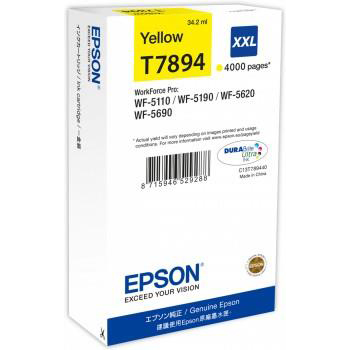 Epson T7894 Inkjet Cartridge Extra High Yield 4000pp C13T789440 3to5 Day Leadtime