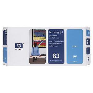 Hewlett Packard HP No.83 Printhead & Printhead Cleaner UV Cyan Ref C4961A *3to5 Day Leadtime*