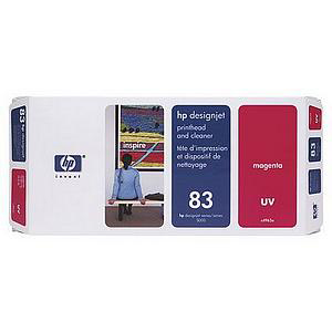 Hewlett Packard [HP] No.83 Printhead & Printhead Cleaner UV Magenta Ref C4962A *3to5 Day Leadtime*