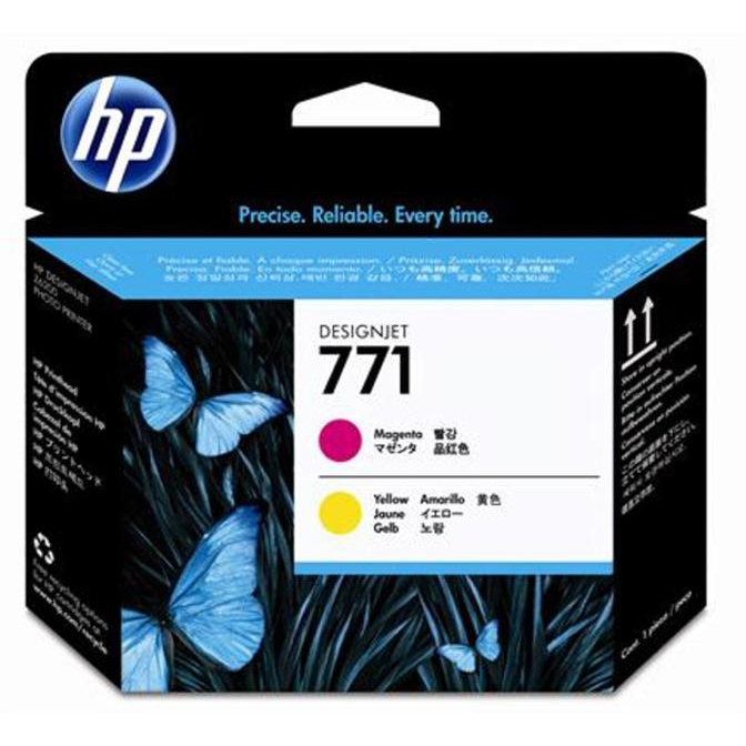 Hewlett Packard [HP] No.771 Printhead Magenta and Yellow Ref CE018A 3to5 Day Leadtime