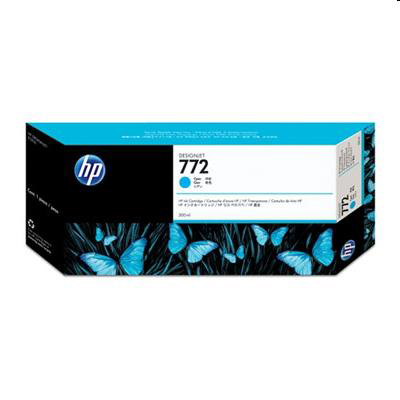 HP 772 Cyan Ink Cart 300ml for HP Designjet Z5200 PostScript Printer Ref CN636A *3 to 5 Day Leadtime*