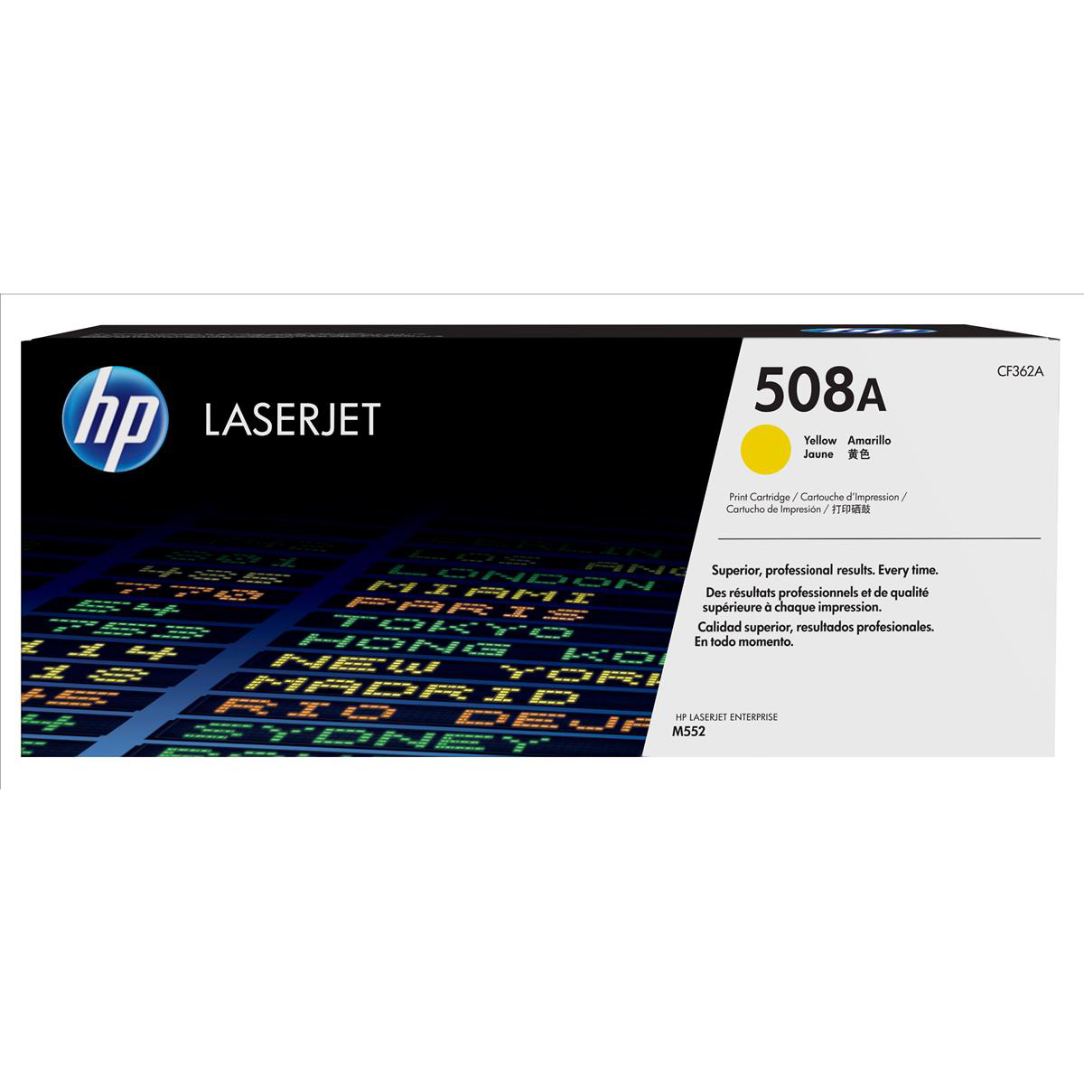 Hewlett Packard [HP] 508A LaserJet Toner Cartridge Page Life 5000pp Yellow Ref CF362A
