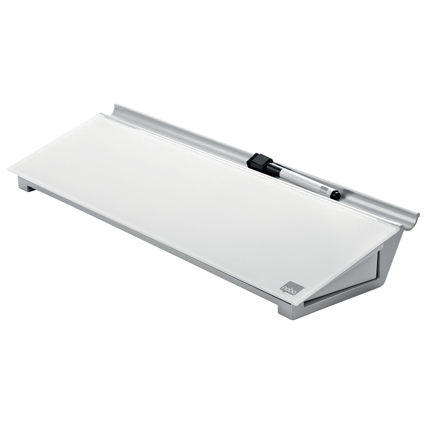 Dry erase boards or accessories Nobo Diamond Glass Personal Desktop Pad Ref 1905174