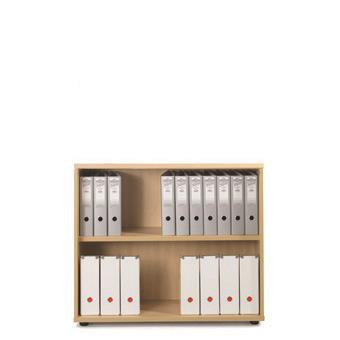 Image for Sonix Bookcase Low One Shelf Acer Maple