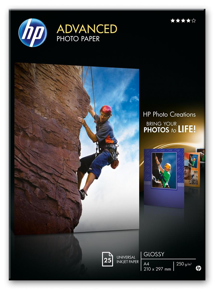 Image for Hewlett Packard [HP] Advance Photo Paper Gloss 250gsm 130x180mm Ref Q8696A [Pack 25]