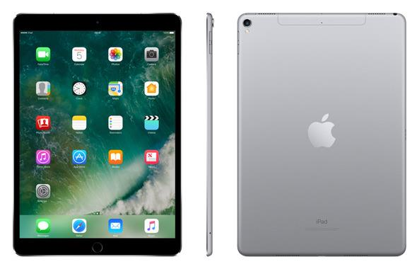 Apple iPad Pro A10X Processor Cellular Wi-Fi 64GB 10.5in Retina Display Touch ID Space Grey Ref MQEY2B/A