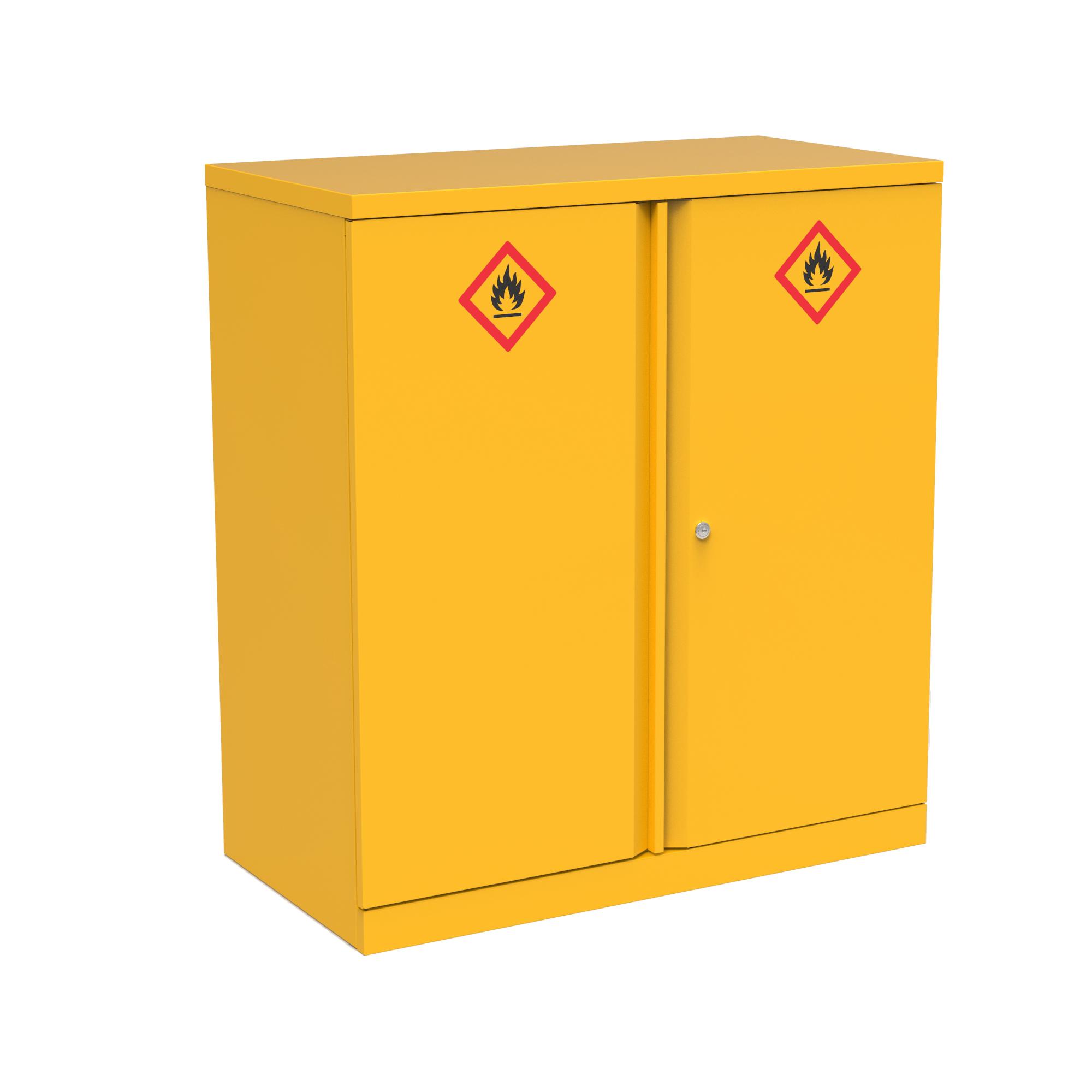 Domestic cupboard Bisley Hazardous Substances Cabinet 1 Shelf 914x470x1000 Ref PC 158958