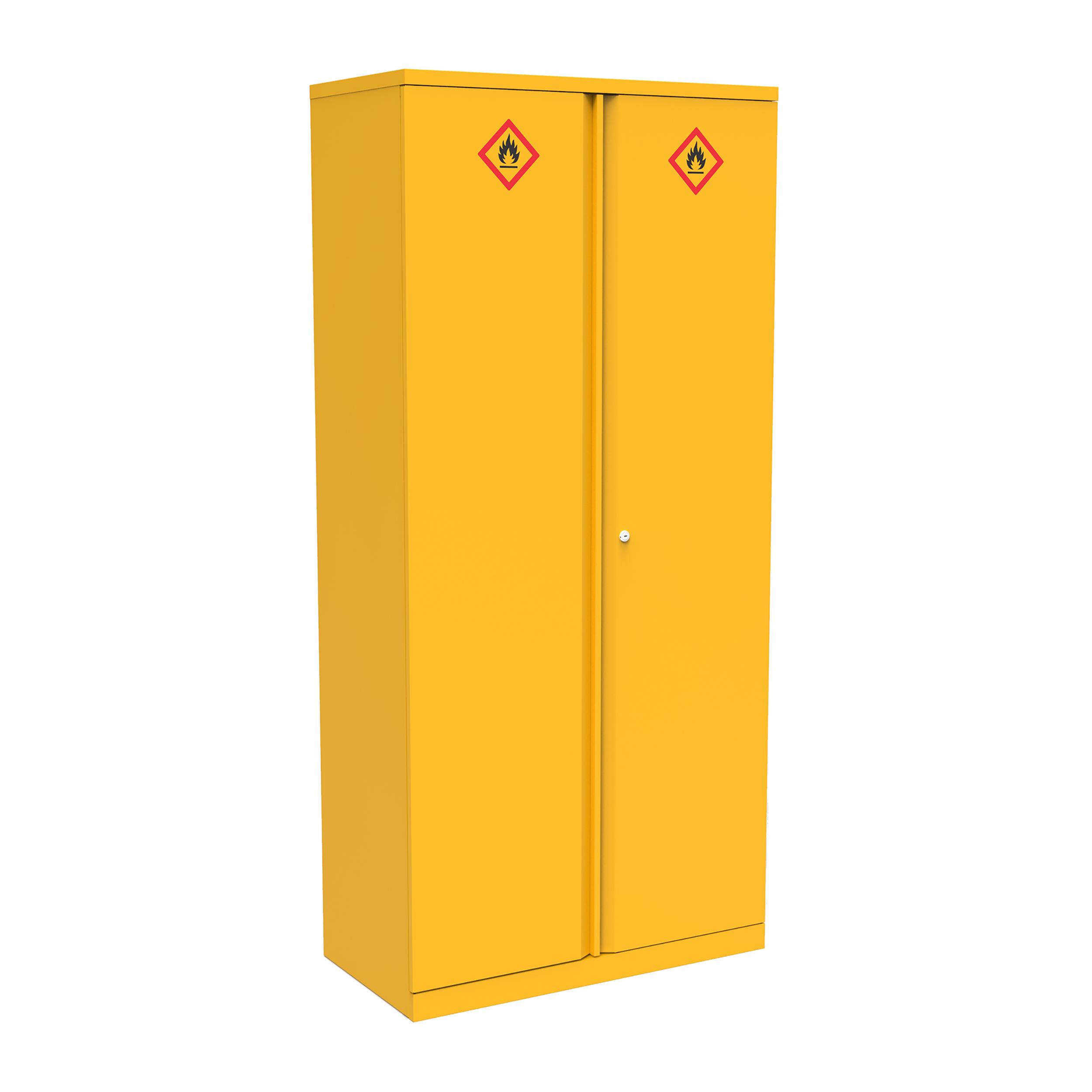 Domestic cupboard Bisley Hazardous Substances Cabinet 3 Shelves 914x470x1806 Ref HCB0918