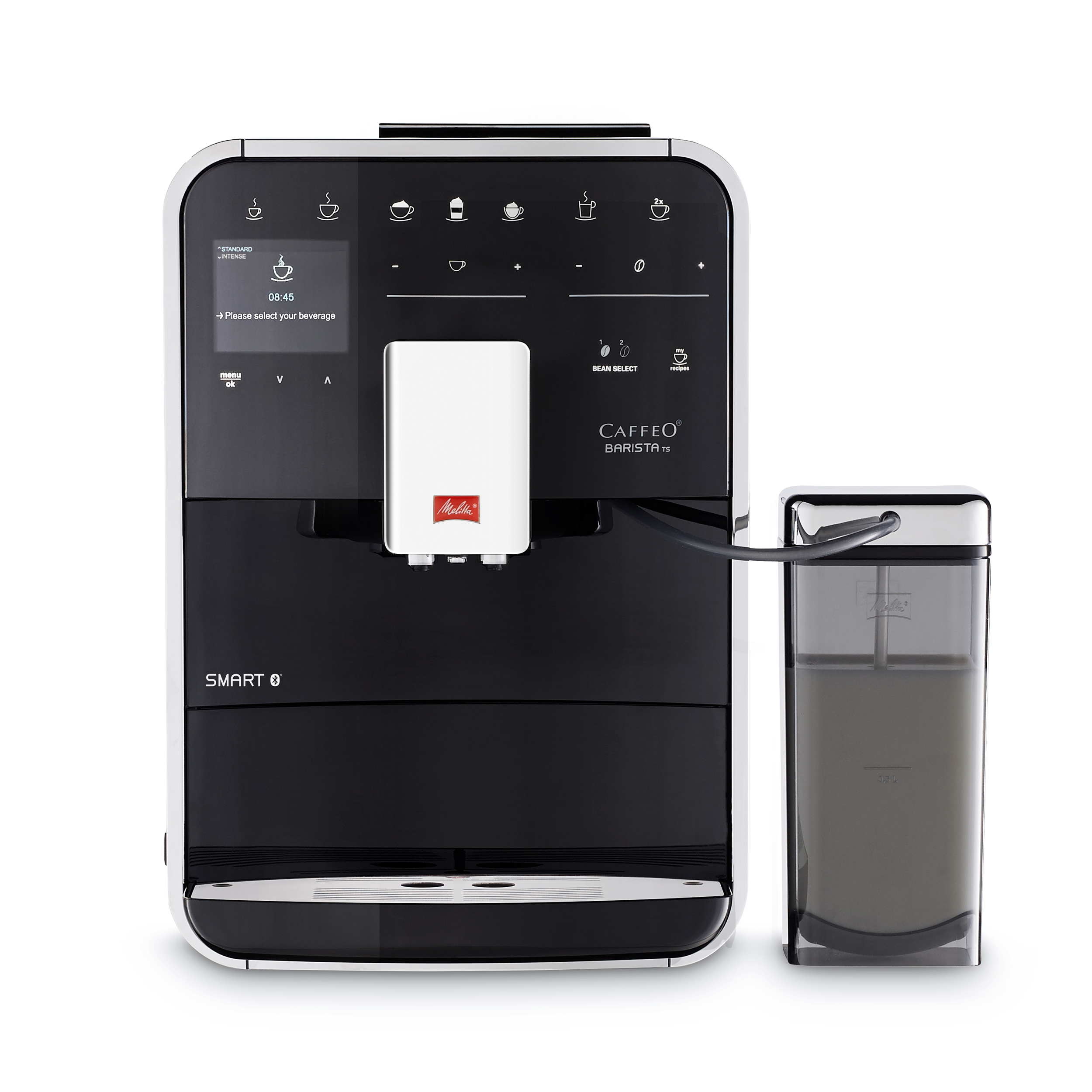 Coffee Machines & Accessories Melitta Barista TS Smart Bean to Cup Coffee Machine Black Ref 6764549