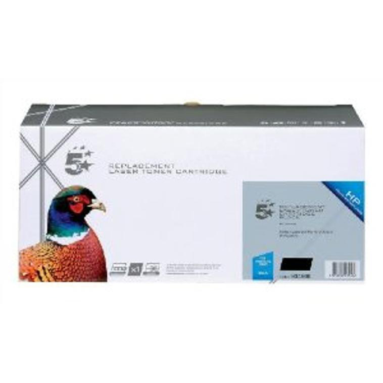 5 Star Office Remanufactured Laser Toner Cartridge 2200pp Black [HP 305A CE410A Alternative]