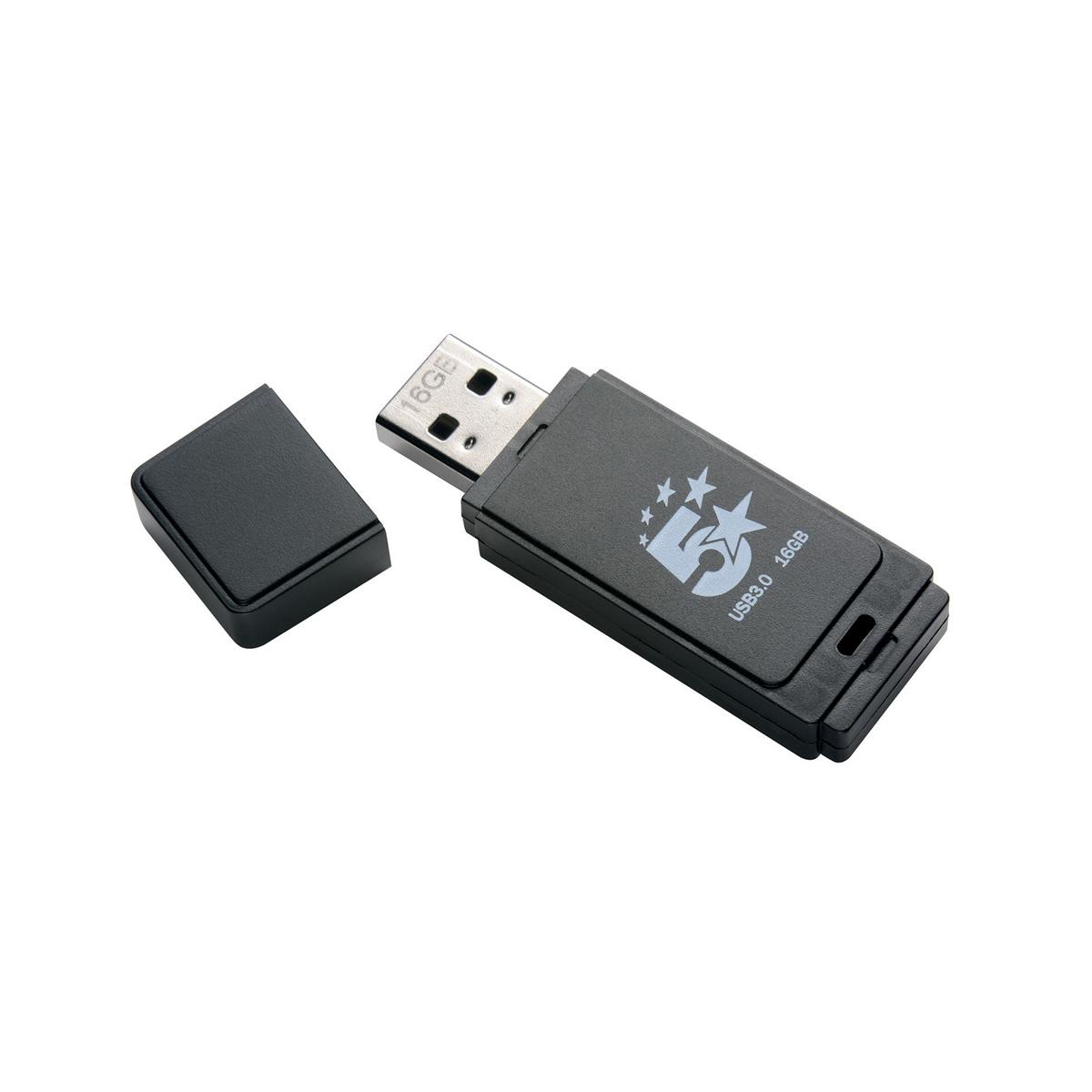 5 Star Office Flash Drive USB 3.0 16GB [Pack 4]