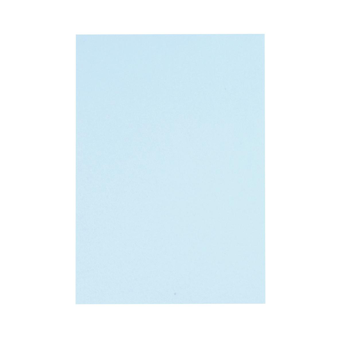 5 Star Office Coloured Card Multifunctional 160gsm A4 Light Blue 250 Sheets