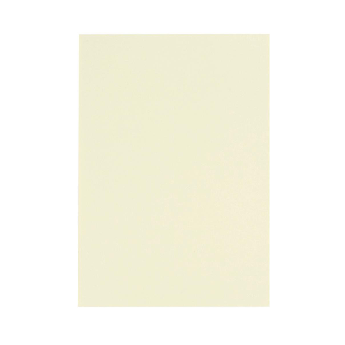 5 Star Office Coloured Card Multifunctional 160gsm A4 Light Cream 250 Sheets