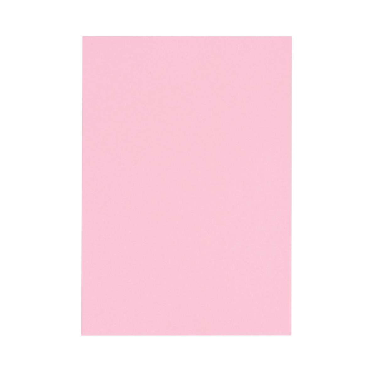 5 Star Office Coloured Card Multifunctional 160gsm A4 Light Pink 250 Sheets