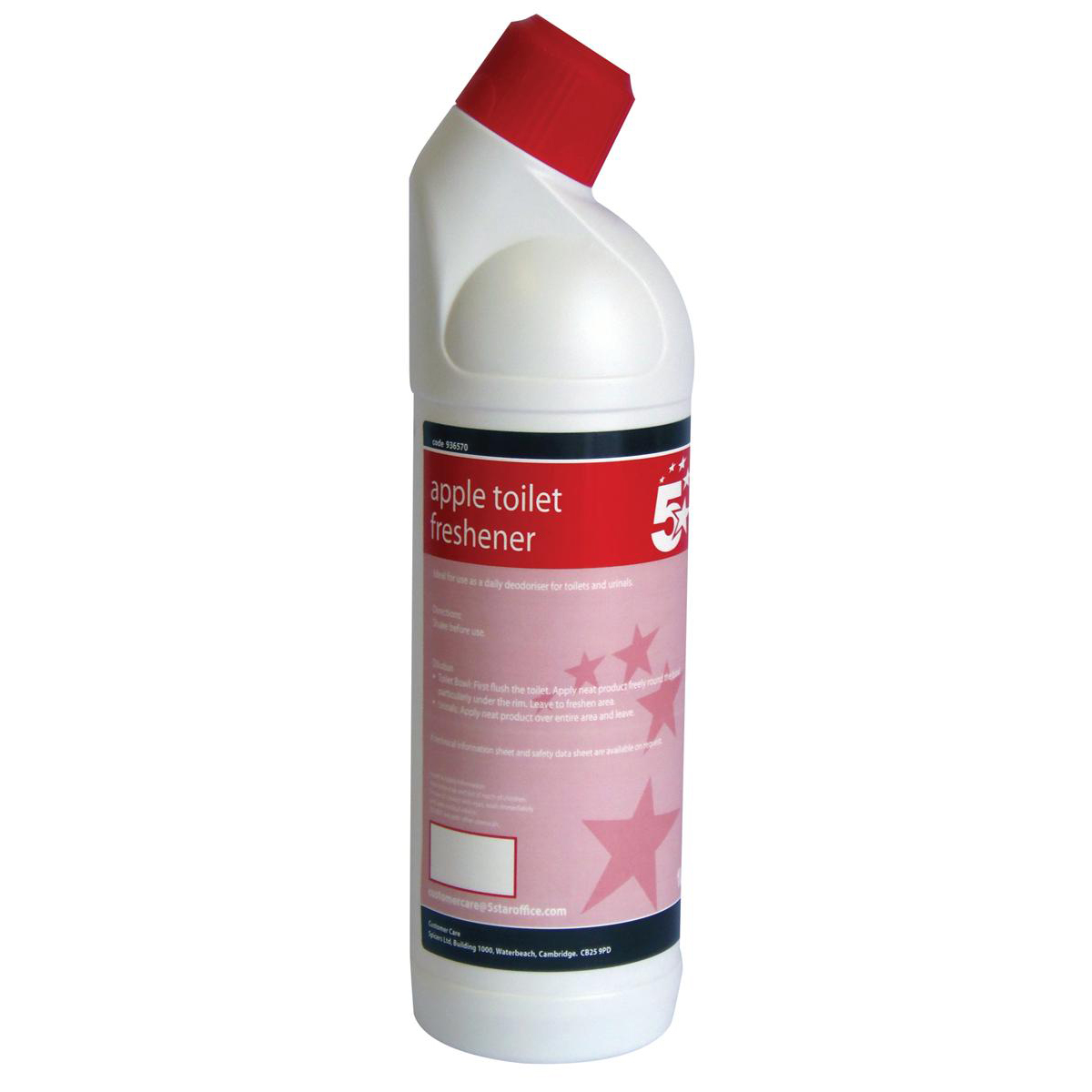 Floor Cleaning 5 Star Facilities Apple Toilet Freshener 1 Litre