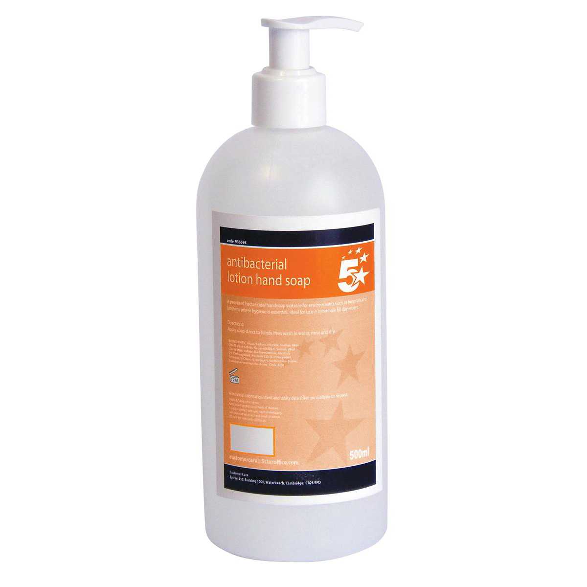 5 Star Facilities Antibacterial Lotion Hand Soap 500ml