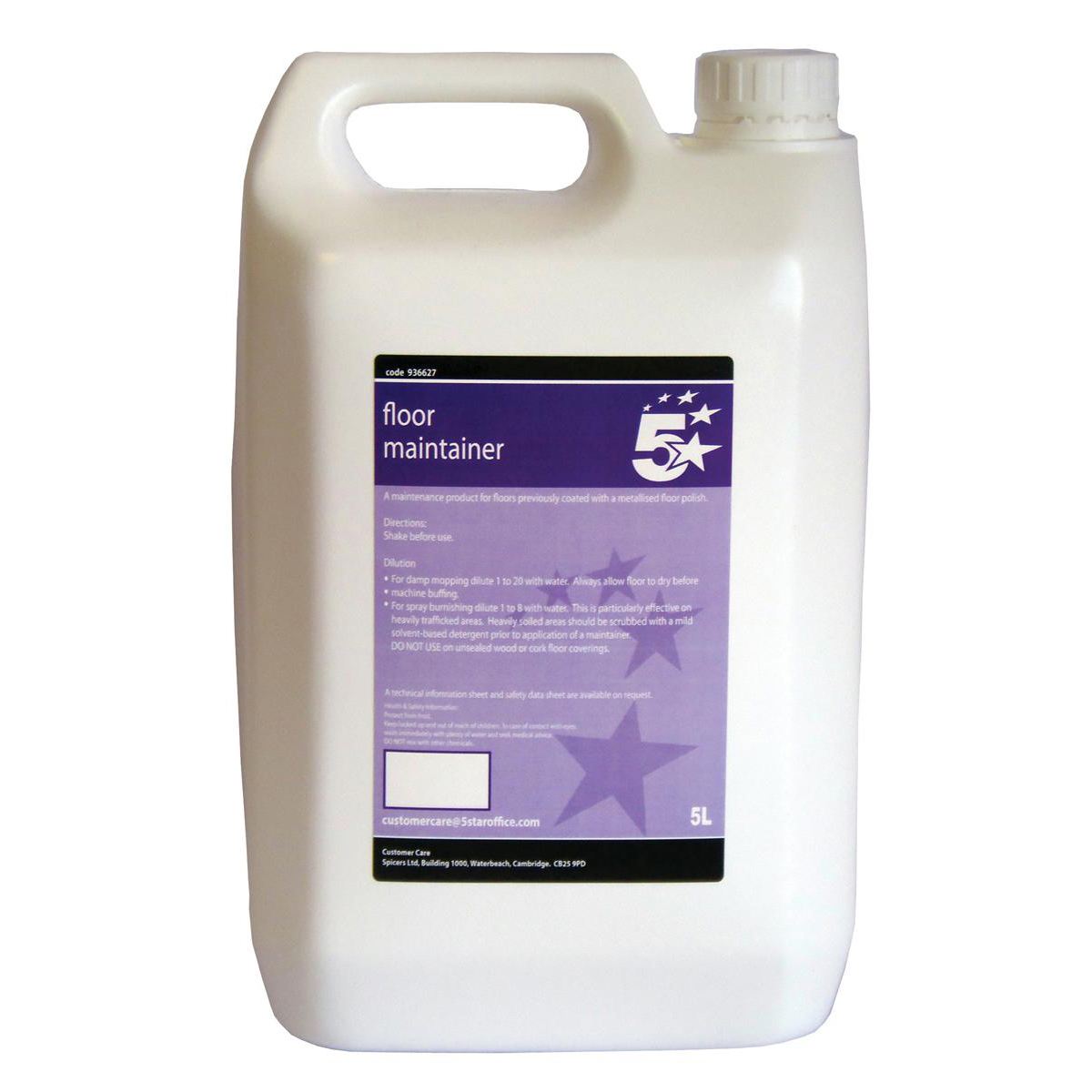 Floor Cleaning 5 Star Facilities Floor Maintainer 5 Litres