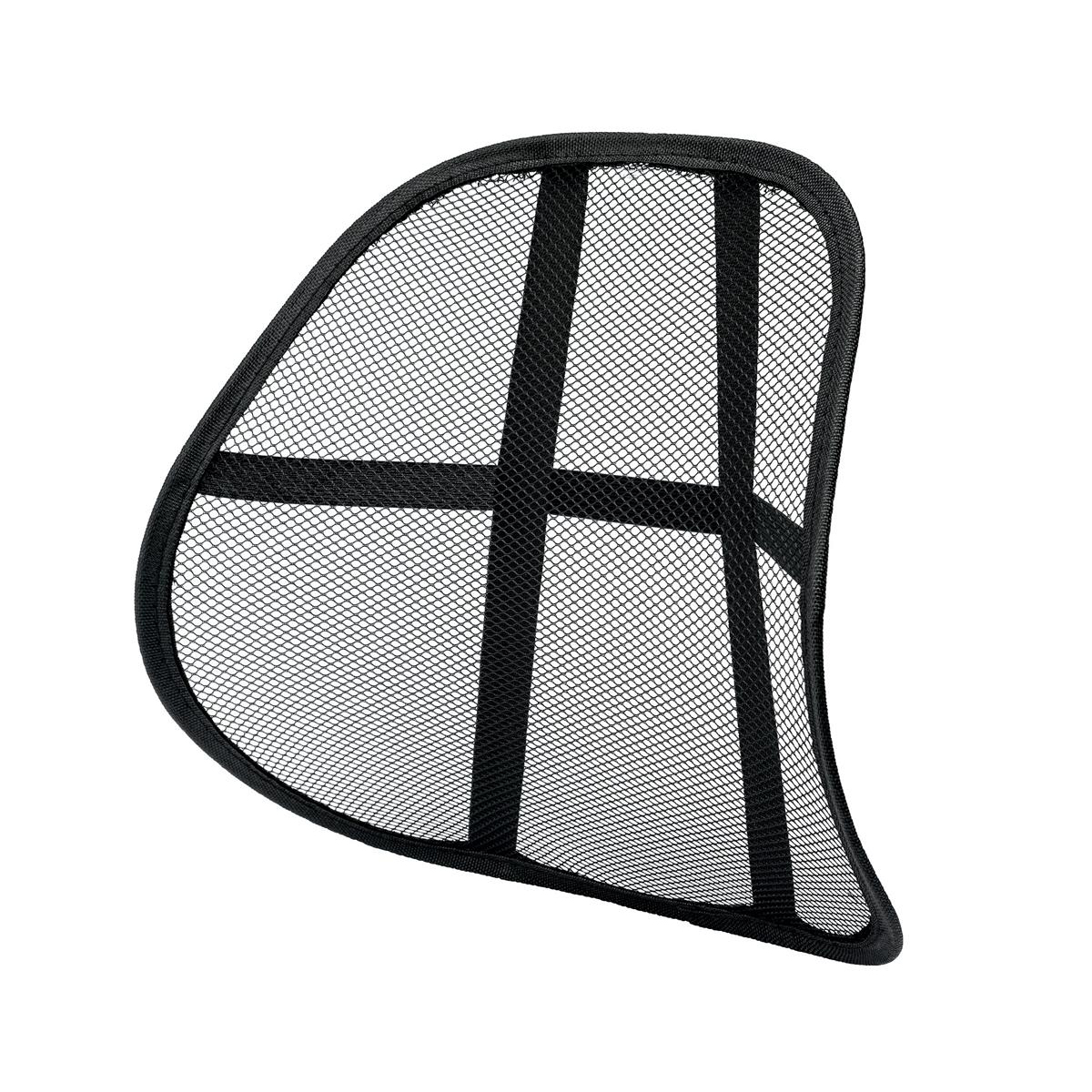 Back support rests 5 Star Office Mesh Back Rest Black Ref 936677