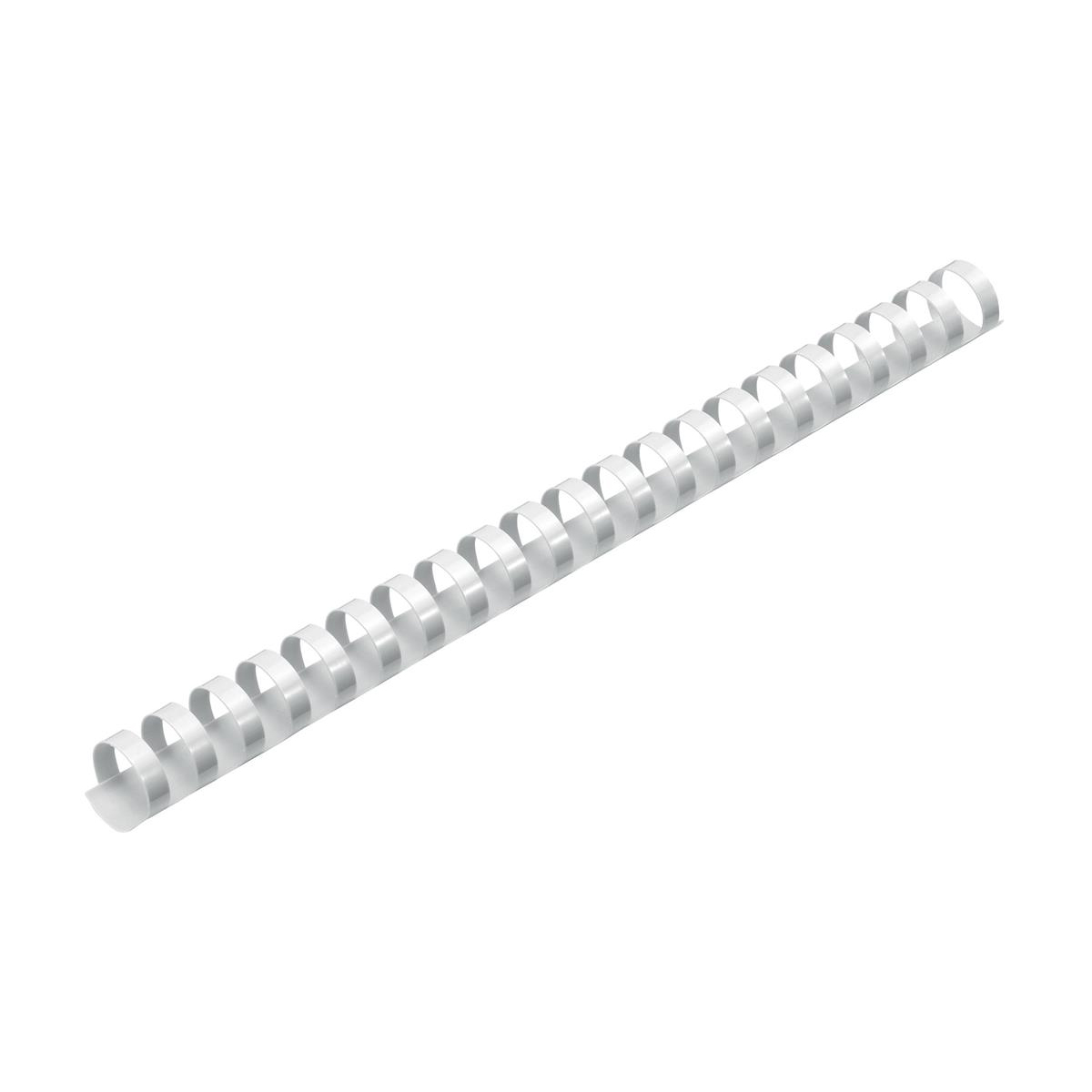 5 Star Office Binding Combs Plastic 21 Ring 170 Sheets A4 20mm White [Pack 100]