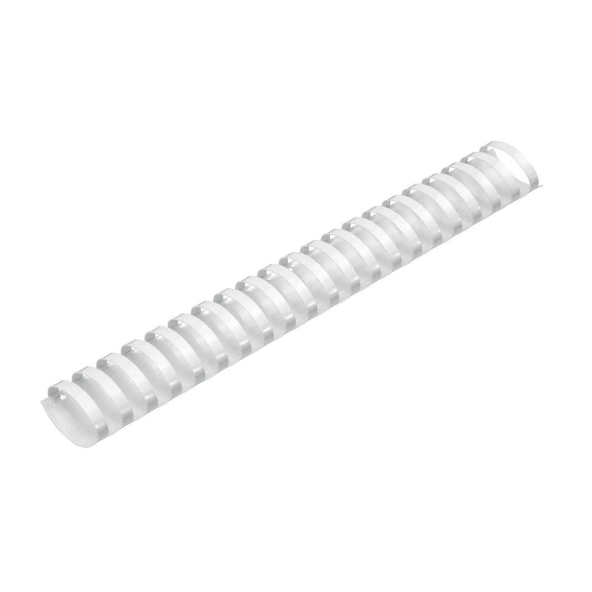 5 Star Office Binding Combs Plastic 21 Ring 325 Sheets A4 38mm White [Pack 50]