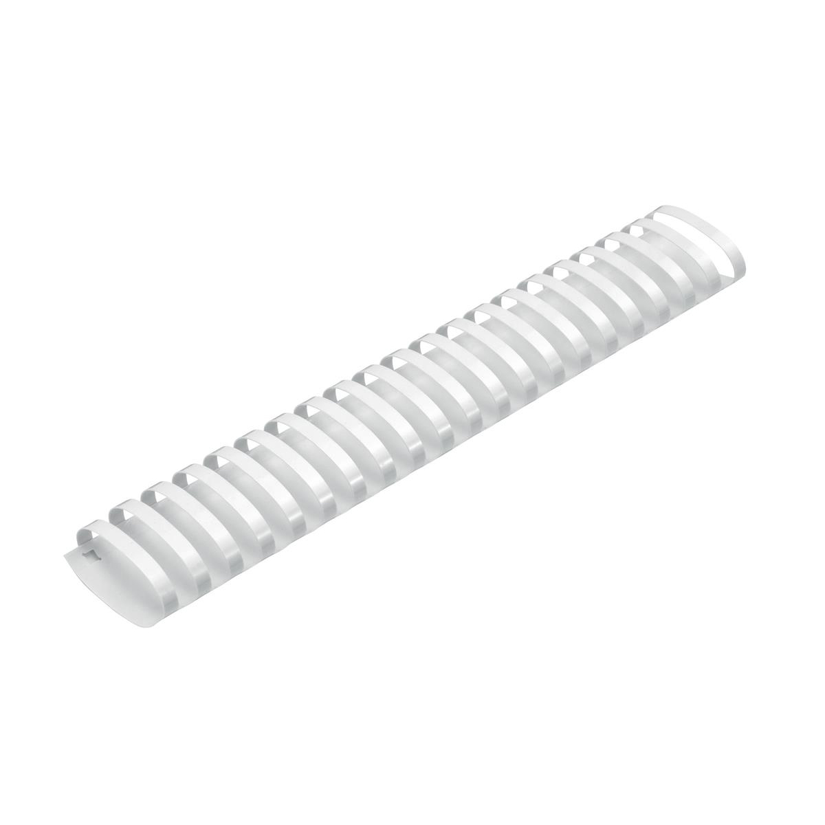 5 Star Office Binding Combs Plastic 21 Ring 425 Sheets A4 50mm White [Pack 50]