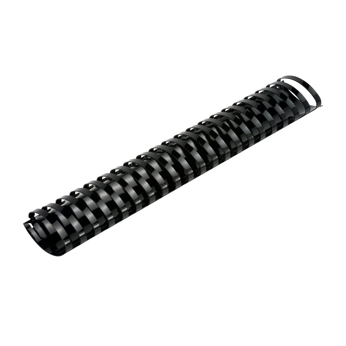 5 Star Office Binding Combs Plastic 21 Ring 425 Sheets A4 50mm Black [Pack 50]